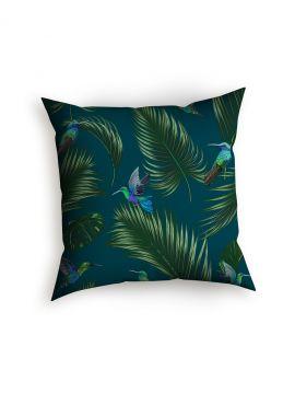 Jungle Bleu canard - Coussin