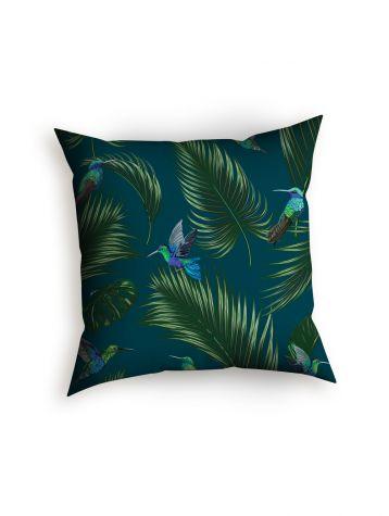 Jungle Bleu canard - Cushion