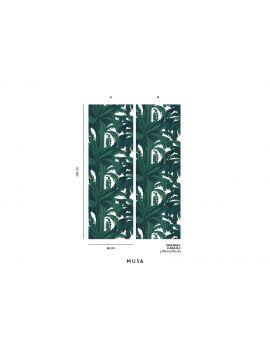 Fresque Musa - 2 lés