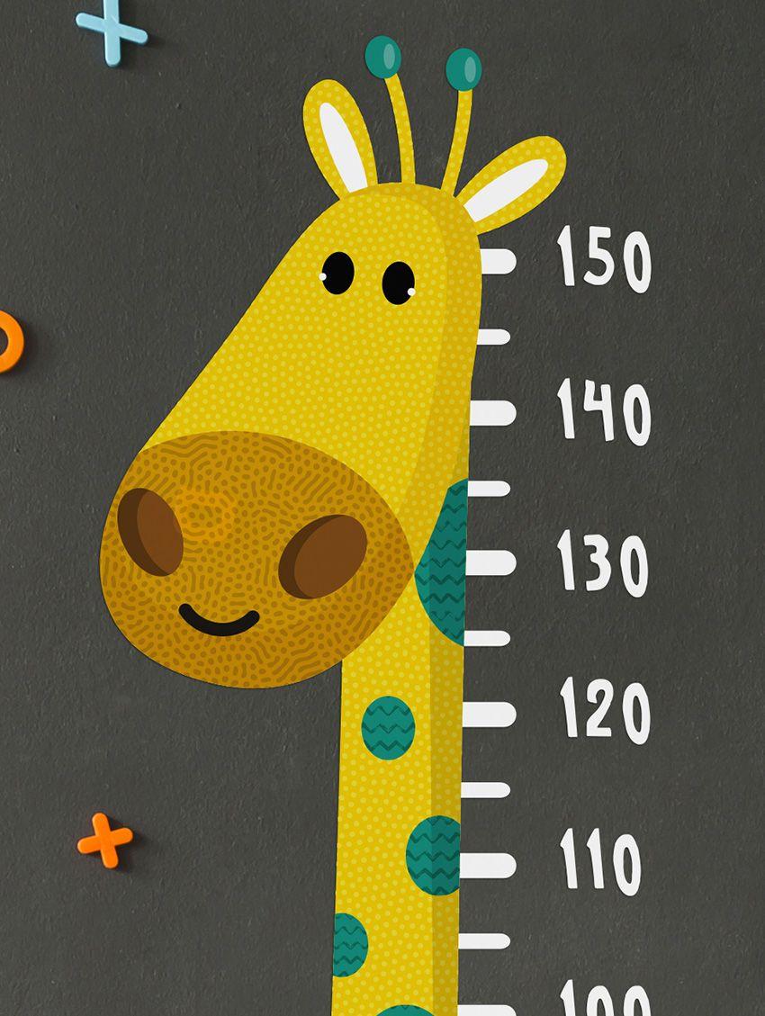 Gaston Le Girafon Large Sticker