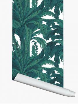 Fresque Musa - Blanc - 1 lé - 88x250 cm - Aquapaper satiné lessivable