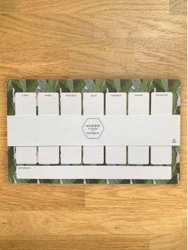 Weekly planner - Leaf