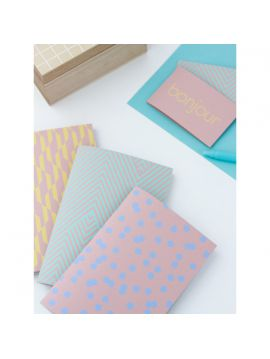 Lot de 2 Carnets - Printemps