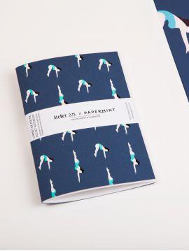 Carnet de poche A6 - Les plongeuses