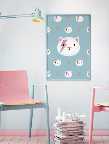 Poster Kitty Stardust