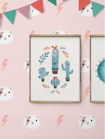 Poster Cactus en édition limitée
