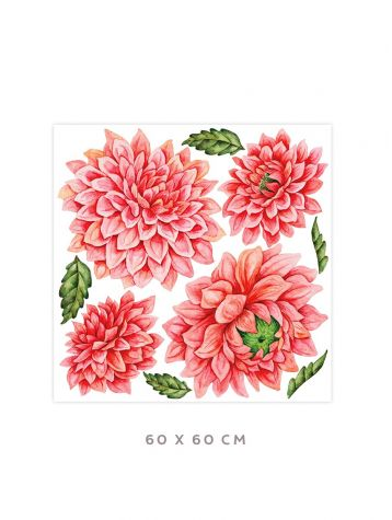 Dahlia - Large sticker