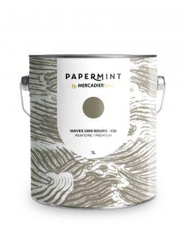 Peinture - Waves Gris souris