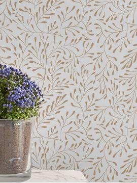 Spring, ocre - 52 x 300 cm - WallDecor semi-mat 1 ex