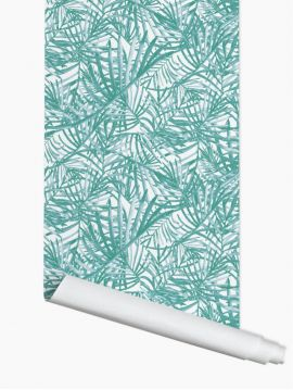 Palméa, vert - 52 x 500 cm - WallDecor semi-mat 1 ex