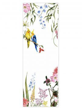 Wallpanel Lewis - blanc - 1 strip D of 78 x 300cm - WallDecor semi-satin