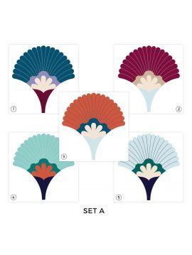 Palm Set A - Set de 5, 10 ou 15 planches