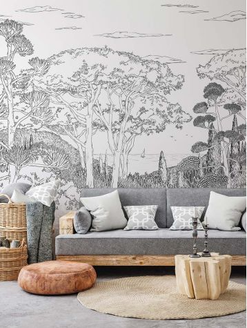 Wallpanel Toscane Line