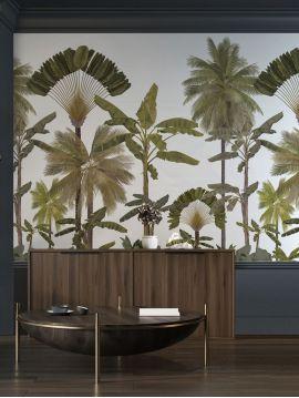 Fresque Manaus - Bronze - L.176 x H.280 cm - Lés A.B - Aquapaper original lessivable
