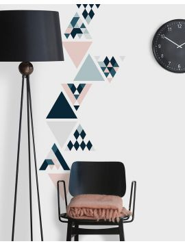 Les triangles - Set de 5 planches sticker set C