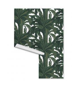 Wallpanel Oasis - Vert - 4 strips H.I.A.B of W.78 x H.250 cm - WallDecor semi-satin - Second choice