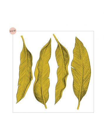 Décor Leaf grand sticker