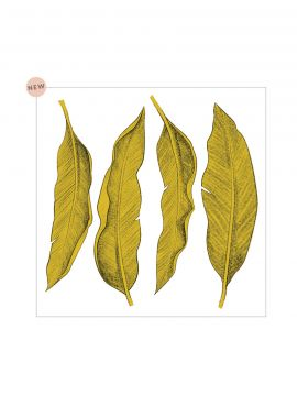 Décor Leaf grand sticker