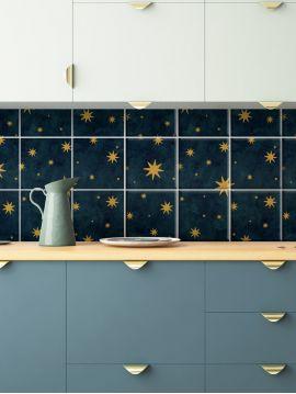 Nuit Etoilee Mosaic - 9 sheets
