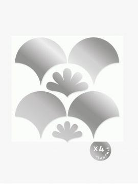Décor Lune Doré - Argent • Edition de Noël
