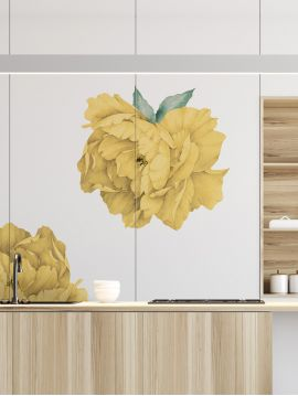 Paeonia - Grands stickers