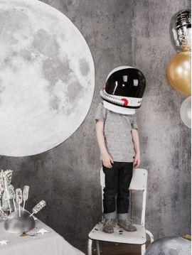 Décor Lune adhésif grand format