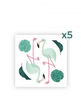 Flamingo - 4 sheets
