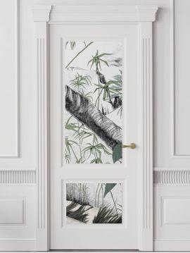 Oasis, couleur - L.88 x H.320 cm - Aquapaper satiné lessivable - Lé F