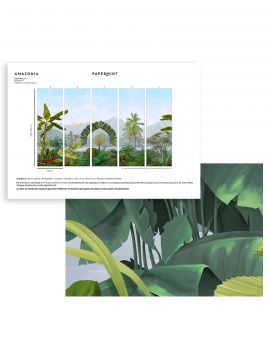 Amazonia Wallpanel - sample