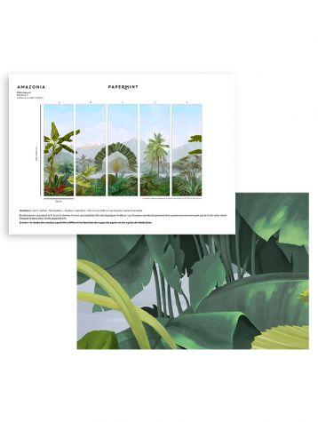 Amazonia Wallpanel - sample