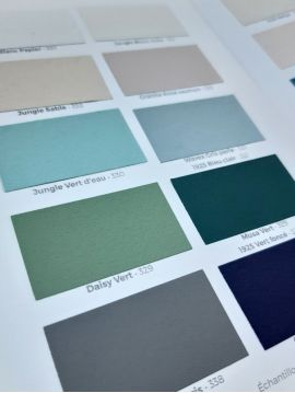 Paint color chart - PaperMint by Mercadier