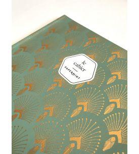 Large notebook - 1925 vert foncé