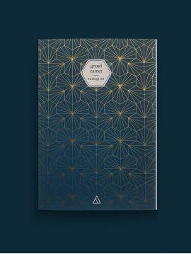 Grand carnet - Tiles bleu