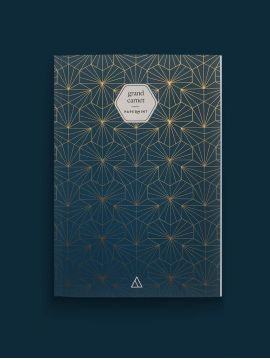 Large notebook - Tiles bleu