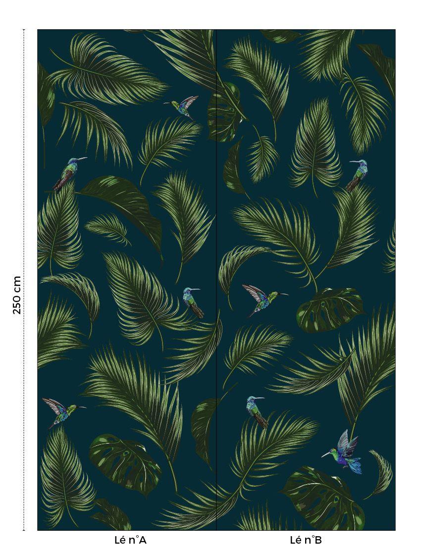 Papier Peint Jungle Papermint
