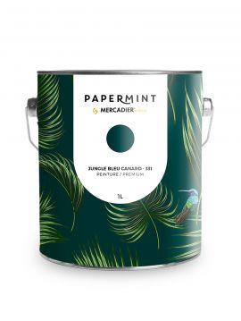Peinture - Jungle Bleu canard