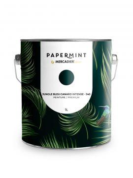 Peinture - Jungle Bleu canard intense
