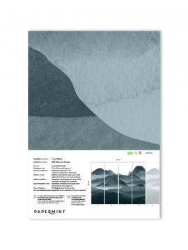 Line Water Wallpanel - sample