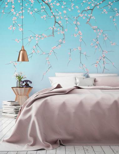 Sakura - Fresque
