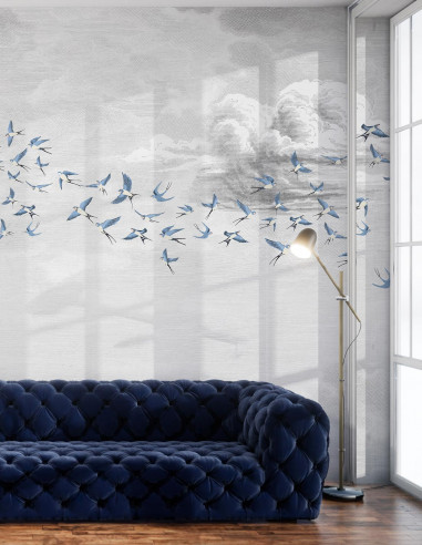 Swallow Cloud - Fresque