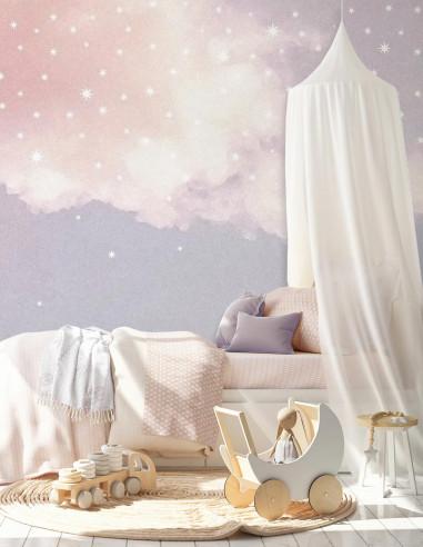 Ciel étoilé - Fresque