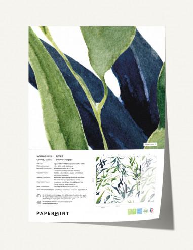 Algae Wallpanel - sample