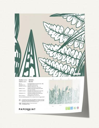 Botanic mural - sample