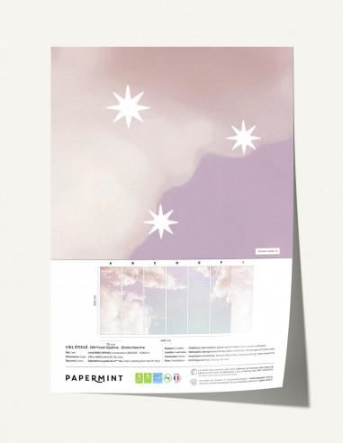 Ciel Etoilé Fresque - Échantillon