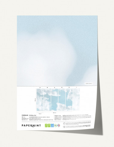 Cumulus Wallpanel - sample