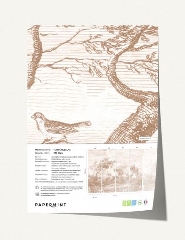 Fontainebleau Wallpanel - sample
