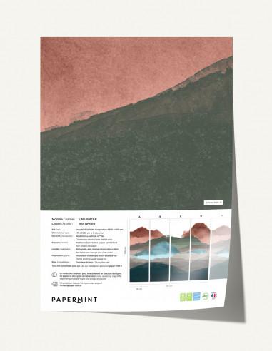 Line Water Fresque - Échantillon