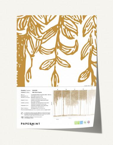 Woods Wallpanel - sample