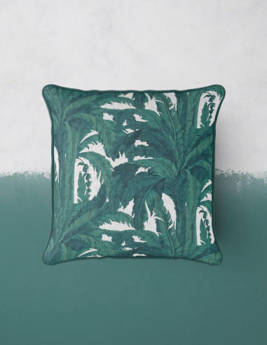 Musa blanc - Coussin