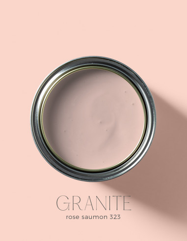 Peinture - Granite Rose saumon - 323